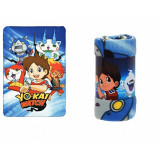 Plaid polaire Yo Kai Watch couverture enfant