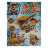 Planche de Stickers Jake le Pirate Autocollant Disney 20 x 30 cm