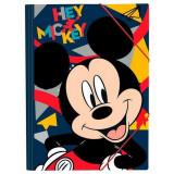 Pochette a rabat Mickey Elastique Ecole Chemise A4