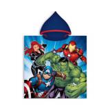 Poncho de bain Les Avengers capuche plage piscine enfant
