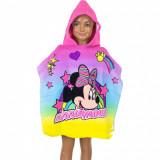 Poncho de bain Minnie serviette capuche plage piscine licorne enfant