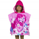 Poncho de bain Disney My Little Pony, cape pour enfant rose