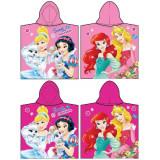 Poncho de bain Disney Princesse, cape pour enfant
