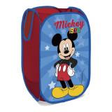 Rangement Mickey Pop Up pliant jouet peluche bac à linge panier