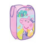 Rangement Peppa pig Pop Up pliant jouet peluche bac à linge panier