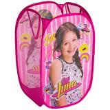 Rangement Pop up Soy Luna enfant bac pliant sac
