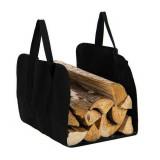 Sac de transport bois cheminée Cabas Panier buche