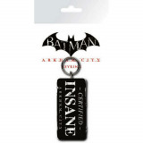 Porte-clés Batman Arkham City Certified Insane