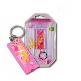 Lampe de poche + porte clé Princesse Disney enfant