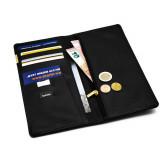 Porte monnaie Marque Balmain porte carte Noir cuir pochette
