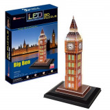 Puzzle 3D Big Ben Lumineux Maquette LED Londres