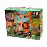 Puzzle 48 pieces La Jungle piece XL 60 x 90 cm Geant