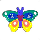 Puzzle en bois Papillon bebe enfant 5 piece