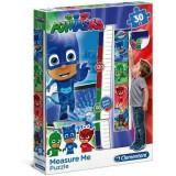 Maxi puzzle PJ Masks 30 pieces toise mesure taille enfant