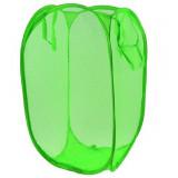 Rangement Pop Up pliant jouet peluche bac à linge panier Vert