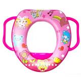 Reducteur Toilette poignee Rose Siege WC Bebe Enfant