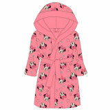 Robe de chambre 10 / 11 ans Minnie peignoir enfant tete rose