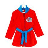 Robe de chambre 6 / 8 ans PJ Masks peignoir capuche rouge