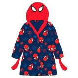 Robe de chambre 2 / 3 ans Spiderman peignoir enfant bleu tete
