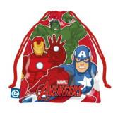 Sac souple Les Avengers Gym Piscine Tissu Rouge dos