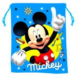 Sac Souple Mickey Mouse Disney Gym Piscine Tissu Bleu