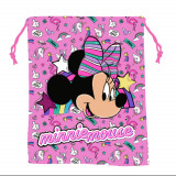 Sac Souple Minnie Mouse Disney Gym Piscine Tissu Rose