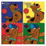 1 serviette Disney Scooby Doo essuie main 30x30cm ecole enfant