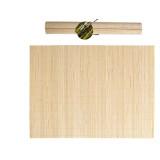 Set de table en bambou 30x40cm service repas bois