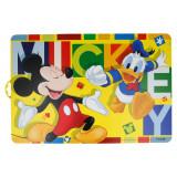 Set de table Mickey Donald sous main repas enfant