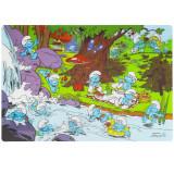 Set de table Les Schtroumpfs 3D Disney repas enfant, sous main mod 1