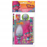 Set écolier 5 pieces Les trolls Poppy