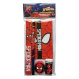 Set écolier Spiderman règle carnet crayon gomme taille crayon