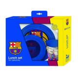 Set repas FC Barcelone gobelet assiette Dejeuner Barca
