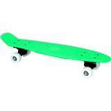 Skateboard complet 57 cm vert retro plastique