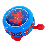 Sonnette metal ronde Spiderman, velo enfant new