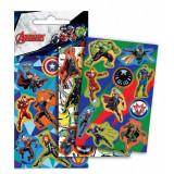 Lot 3 planche de Stickers Avengers Autocollant 12 x 8 cm