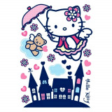 Stickers mural Hello Kitty XXL chambre enfant mur