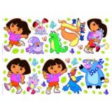 Stickers mural Dora L'Exploratrice