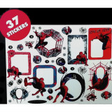 37 Stickers mural Spiderman cadre photo