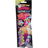 Stick lumineux bracelet fluo perle glow carnaval fête mod 7