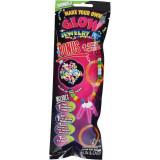 Stick lumineux bracelet fluo pendentif perle glow carnaval fête mod 8