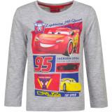 Pull Sweat Cars T-shirt manche longue 4 ans gris