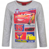 Pull Sweat Cars T-shirt manche longue 3 ans gris