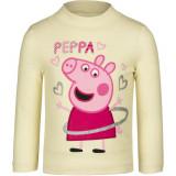 Pull Peppa Pig T-shirt manche longue 7 ans blanc