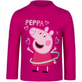 Pull Peppa Pig T-shirt manche longue 8 ans rose