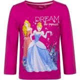 Pull Princesse T-shirt manche longue 5 ans rose fonce