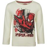 Pull Spiderman T-shirt manche longue 4 ans blanc