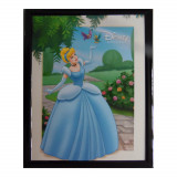 Tableau Cendrillon  20 x 25 cm Disney cadre princesse