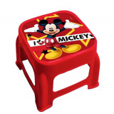 Tabouret marche pied Disney Mickey enfant marchepied rouge