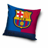 Taie d'oreiller FC Barcelone 40 x 40 cm Barca coussin new